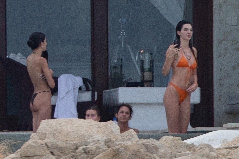 Kendall Jenner i Hailey Bieber