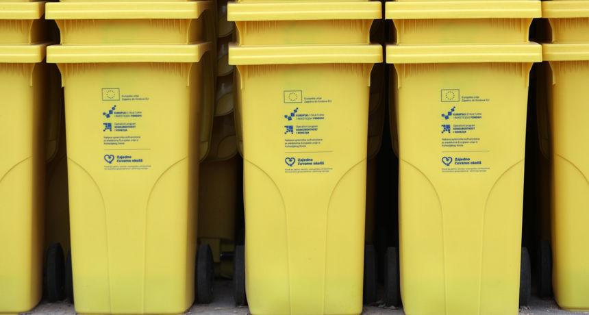 Općina Cestica organizira podjelu besplatnih žutih kanti za otpadnu plastiku u domaćinstvima