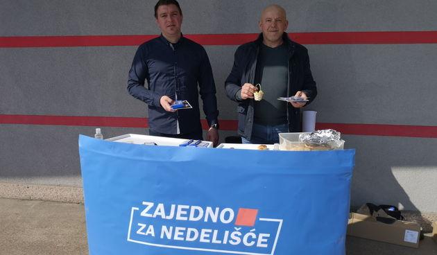 FOTO Zajedno za Nedelišće: Razveselili mještane općine uskršnjim košaricama