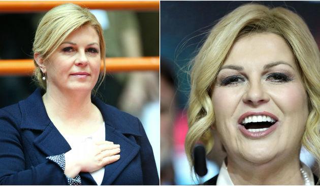 Kolinda Grabar-Kitarović prije pet godina i danas