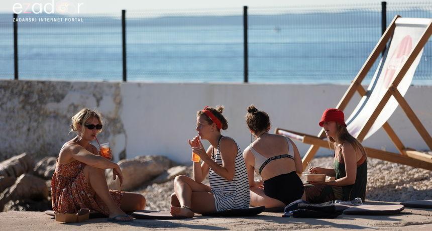 U Zadarskoj županiji boravi još oko 35 tisuća turista