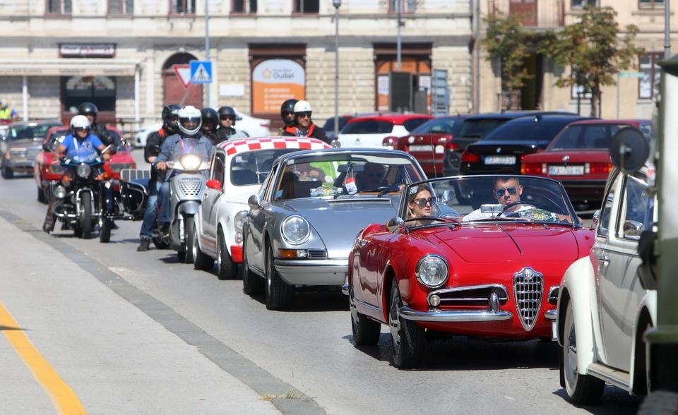 U organizaciji Olditimer kluba Zagreb održan 35. Zagrebački oldtimer rally