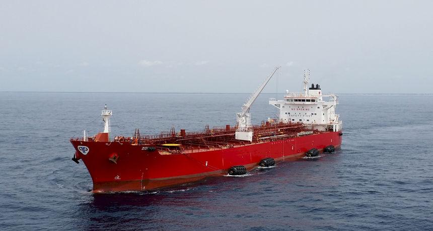 Tjedno kretanje brodova Tankerske plovidbe d.d.