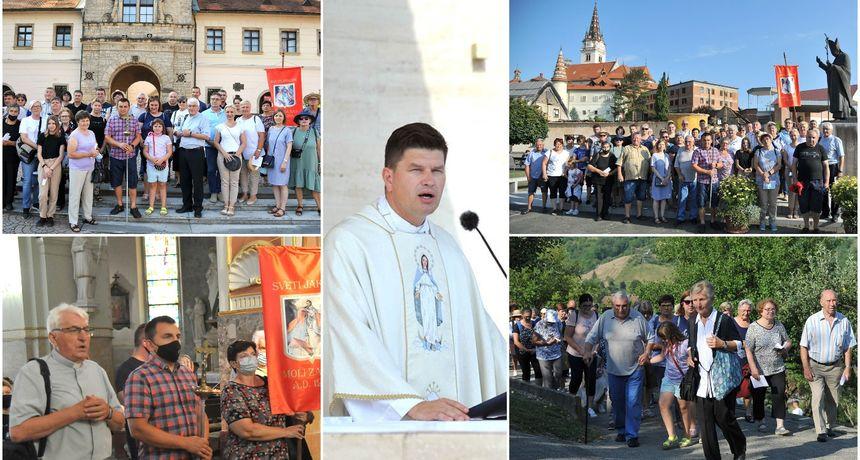 FOTO Vjernici iz župa preloškog dekanata na zavjetnom hodočašću u Mariju Bistricu