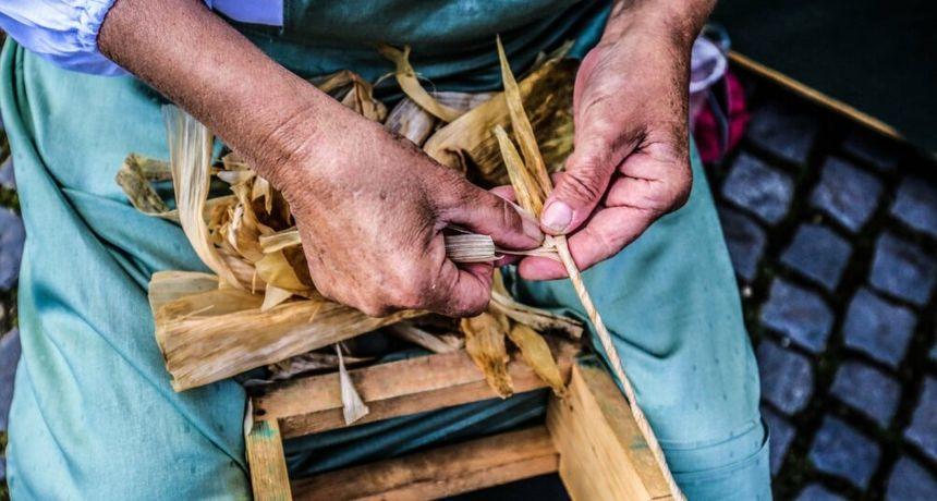 VOLIM SVOJU ŽUPANIJU Fotografija Alenke Novak 'Vredne roke pletu ceker' najljepša u Međimurju