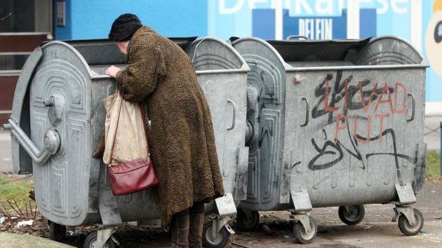 Siromaštvo, Kontejner, Bijeda