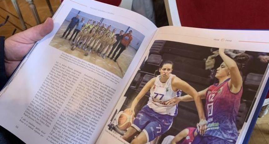 Predstavljena monografija Dragutina Keržea ''Povijest košarke u Osijeku''
