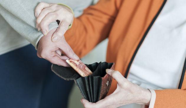 Krađa novčanika