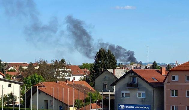 Nad Varaždinom se nadvio crni dim, evo o čemu je riječ