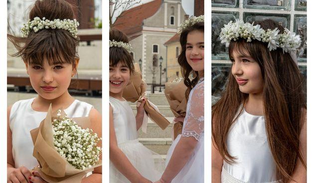 I vaše djevojčice mogu zablistat uz vjenčiće za glavu cvjećarnice Florista