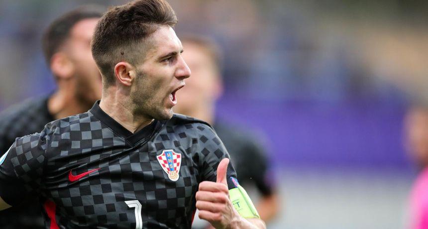 PRIZNANJE Luka Ivanušec u najboljoj momčadi Eura U-21