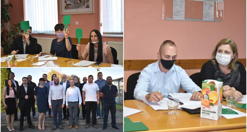 PRIBISLAVEC Novi saziv Općinskog vijeća Općine Pribislavec preuzeo dužnosti