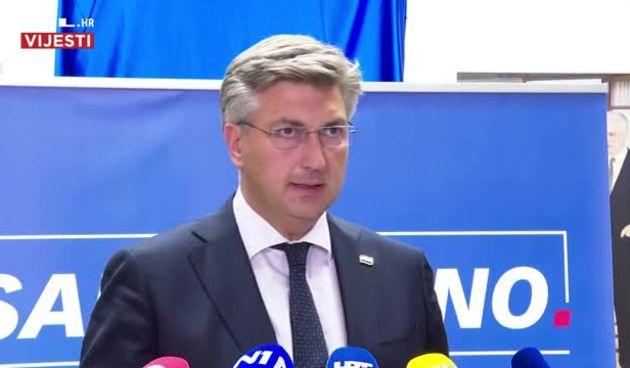 Plenković o tenzijama na Kosovu: 'Imamo otvorene oči za sve što se zbiva u susjedstvu. Pozivam na deeskalaciju' (thumbnail)
