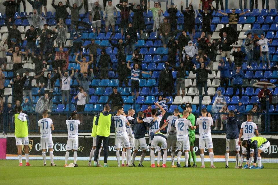 NK Osijek - HNK Šibenik 3:0
