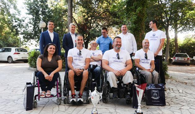 Župan Longin primio članove KKOI Zadar - osvajače dvostruke krune