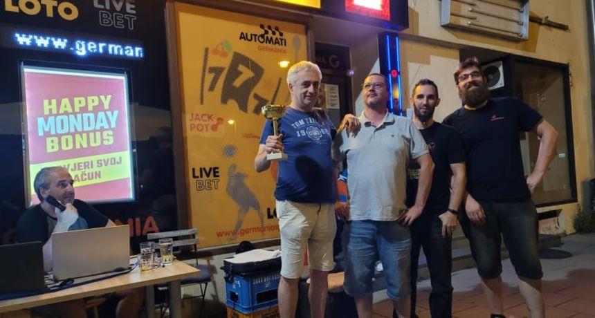 Na terasi Caffe bara Ziggy završila još jedna sezona KA47 kviz lige - po prvi puta slavila ekipa Lisko ITSWD