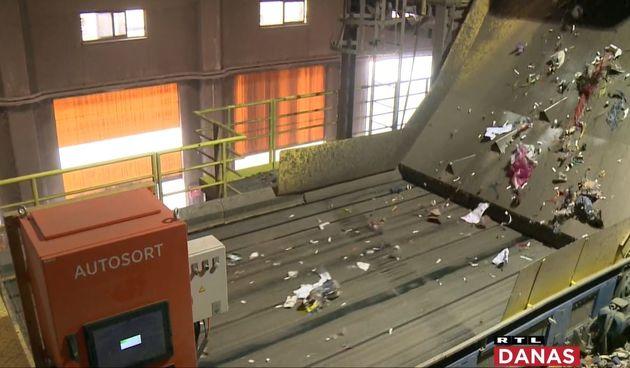 Postrojenje za obradu neopasnog otpada tvrtke CE-ZA-R iz Varaždina