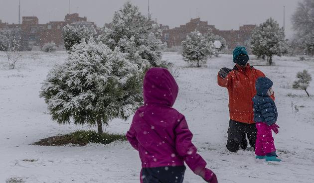 snijeg španjolska