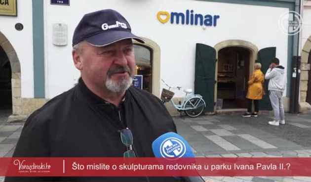 Anketa - što građani misle o skulpturi 'Crkveni redovi Varaždina' (thumbnail)