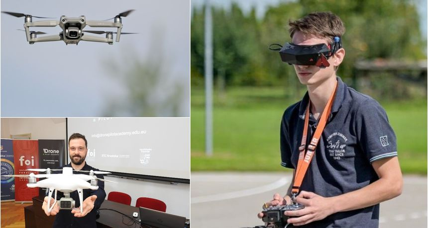 Upis nove generacije pilota dronova – saznajte sve što vas zanima o edukaciji!
