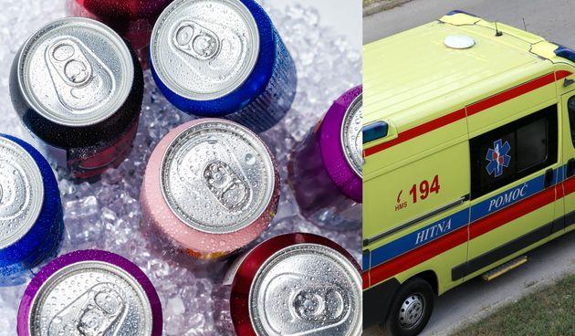 Energetska pića, hitna pomoć