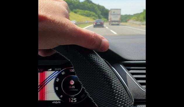 SVJEDOK DIVLJANJA 'Prije nego se zabio u auto kod naplatnih kućica, vozač BMW-a promašio me za nekoliko centimetara!' (thumbnail)