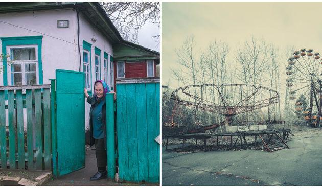 Černobil i područje Pripjata
