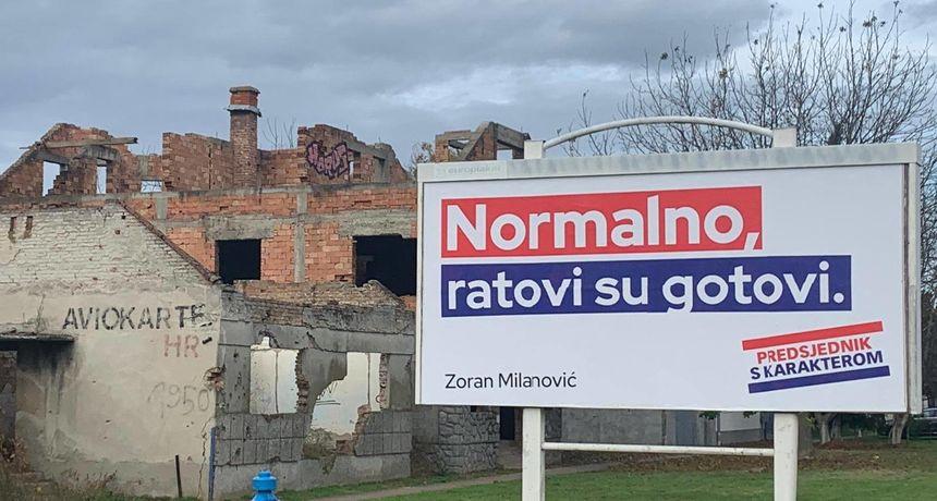 Škoro se osvrnuo na Milanovićev plakat u Vukovaru: 'Nije normalno poručivati to silovanim ženama...'