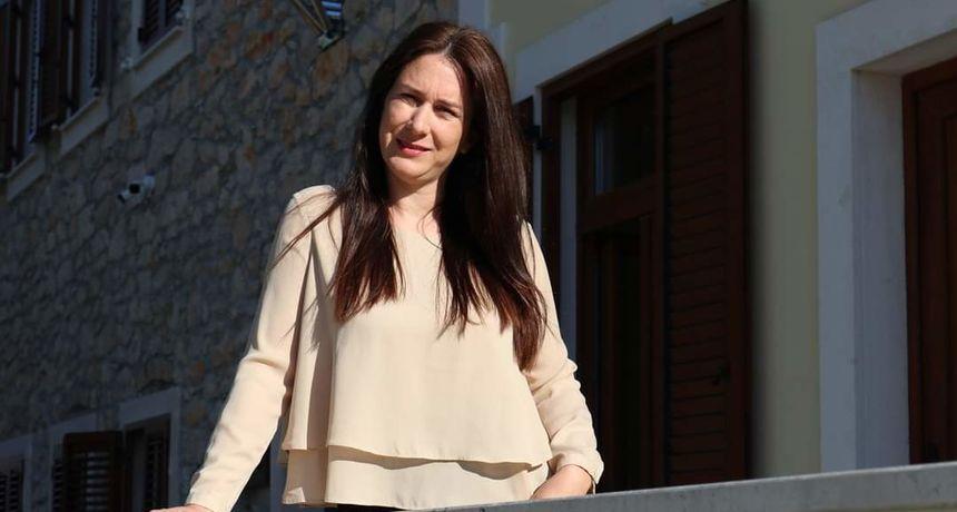 Anita Predovan Maraš, prva i posljednja donačelnica Općine Vrsi
