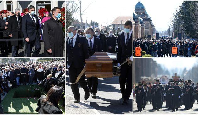 ispratio ga veliki broj građana: Pokopan je Milan Bandić