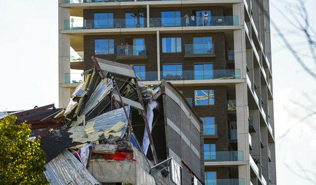 Škola u Antwerpenu, srušila se