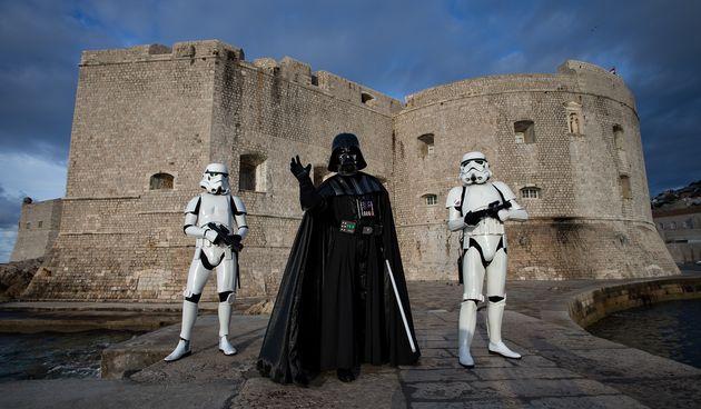 Darth Vader u Dubrovniku