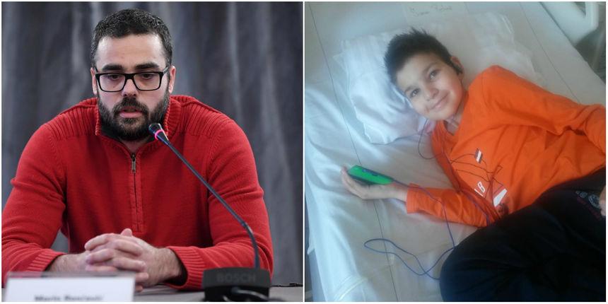 Otac Mile Rončević s 400 tisuća kuna pomaže teško bolesnom dječaku iz Maslenice!