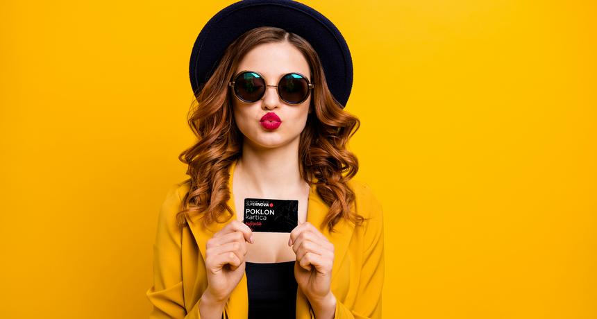 Poklon-kartica za najbolji jesenski shopping