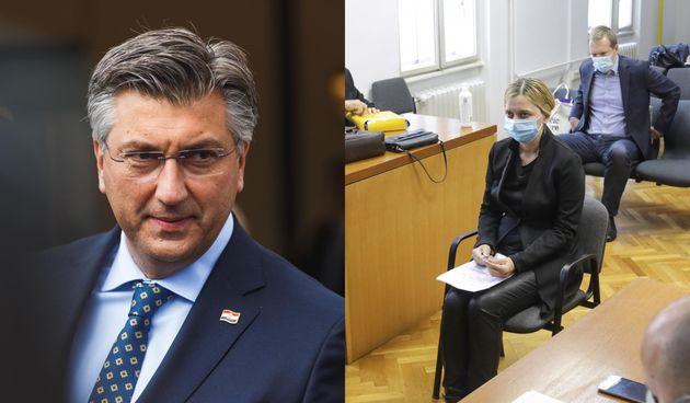 Andrej Plenković, Sandra Zeljko