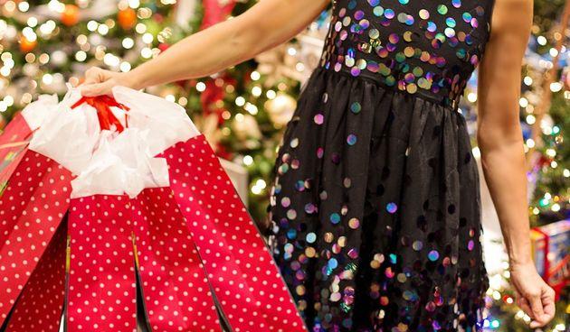 Božićna kupovina, shopping