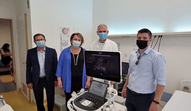 Hrvati iz Clevelanda donirali sisačkoj bolnici uređaj za pregled trudnica: Ne brinite se, u ovome niste sami