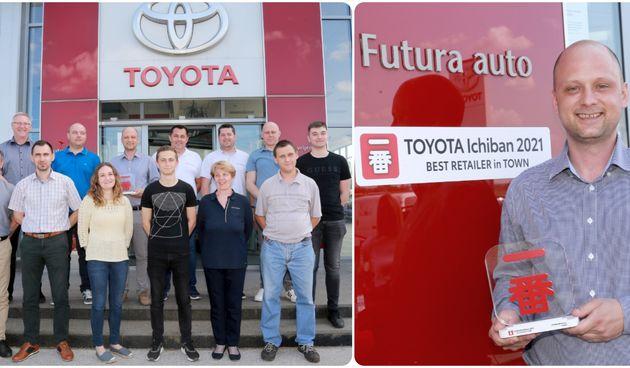 PRESTIŽNA NAGRADA Futura auto iz Varaždina jedan od najboljih Toyota centara u Europi!