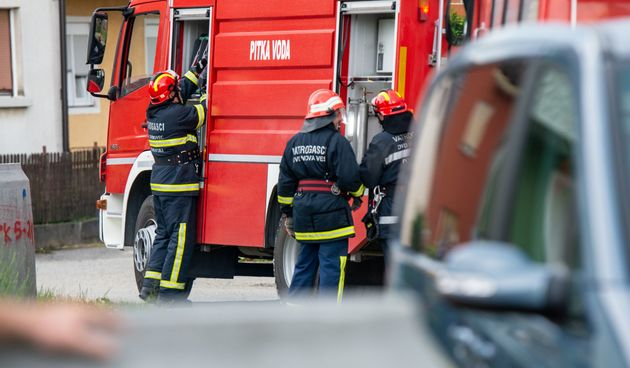 Javna vatrogasna vježba održana u Novoj Vesi Petrijanečkoj