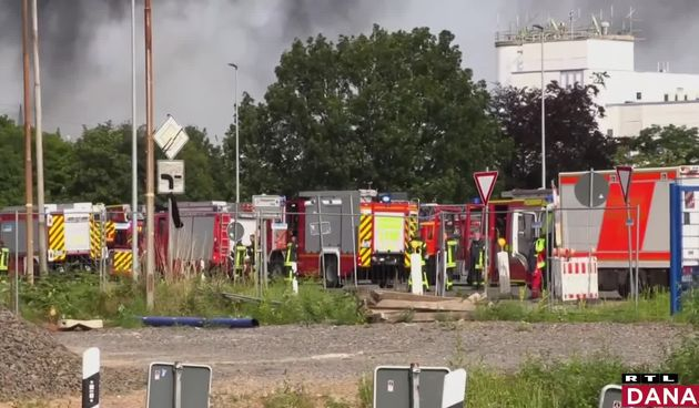 vatrogasci u Leverkusenu