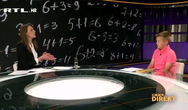 Upoznajte čudo od djeteta Patrika Čudića: Zbraja, množi, oduzima i dijeli brže od kalkulatora (thumbnail)