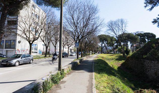 Zadar, mjesto na kojem je pretučen dječak