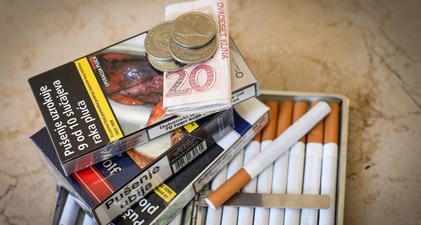 Vlada povećala trošarine na duhan, za jednu vrstu čak 75 posto! Evo koliko će od 1. ožujka poskupjeti cigarete