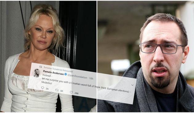 Pamela Anderson, Tomislav Tomašević