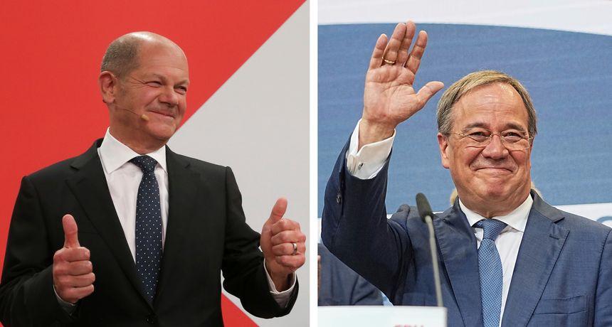 Izbori u Njemačkoj: SPD utvrđuje vodstvo pred CDU-om, ali predsjednici obiju stranaka tvrde da oni trebaju postati kancelari