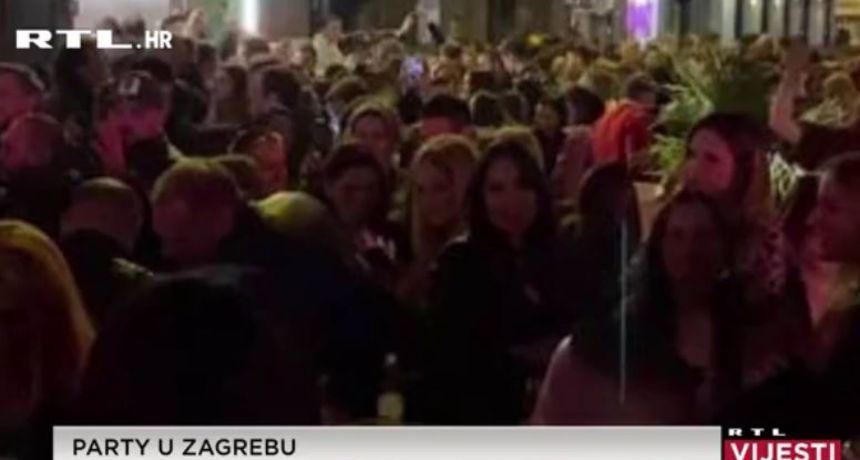 U Zagrebu se sinoć partijalo kao da korona ne postoji: Vlasnici kafića tvrde da glazba nije njihova