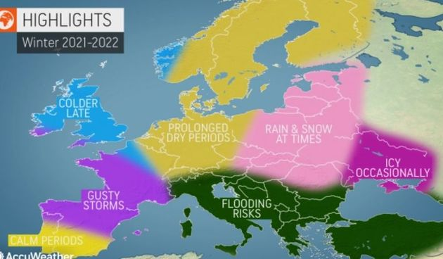 AccuWeather objavio prognozu za zimu: ''Balkanom će ove zime prolaziti oluja za olujom''
