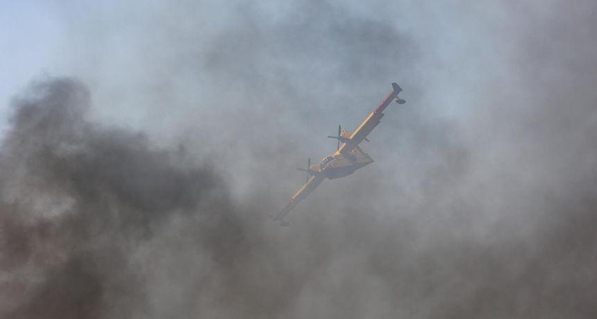 Požar kod odlagališta otpada na Diklu, na terenu su sve raspoložive snage
