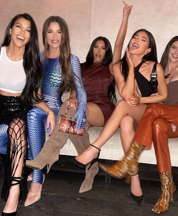 Kim, Kylie, Kendall, Khloe i Kourtney