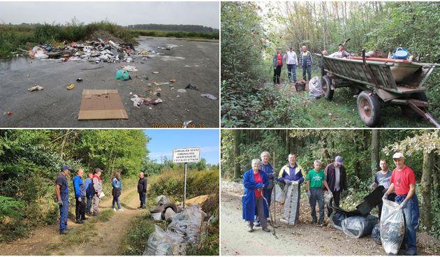 FOTO Na čakovečkom području održana 'Zelena čistka'